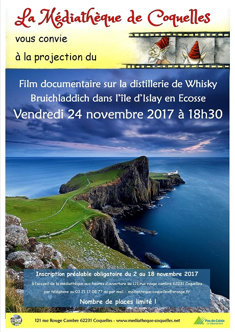 affiche Projection sur Ecosse internet
